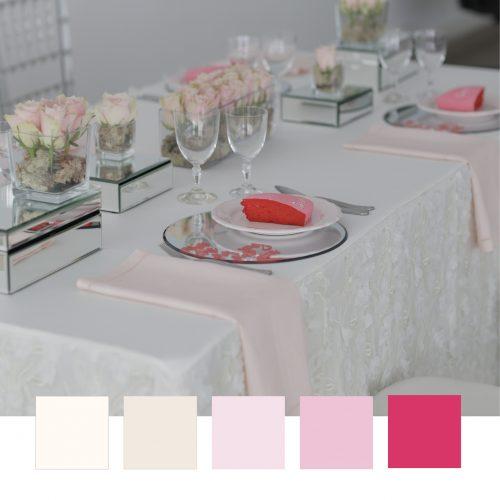 Un buon table setting parte dalla scelta dei colori