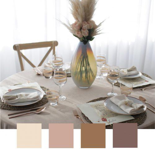 Come creare una color palette per il matrimonio