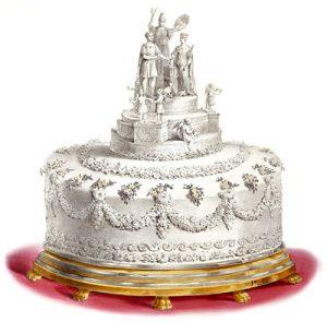 Torta nuziale regina Vittoria
