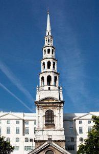 La guglia di St. Bride's Church