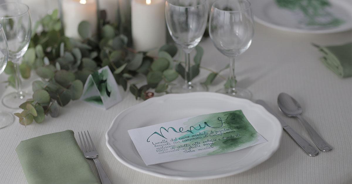 tovagliato da tavola per matrimoni